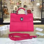 1:1 Dior Diorever Tote Large Bag Calfskin Leather Bag Fall/Winter 2016 Collection, Fuschia
