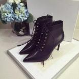 1:1 Quality Balenciaga Lace Up Ankle Bootie Calfskin Leather, Black