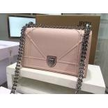 1:1 Quality Diorama Medium Shoulder Flap Lambskin Leather Bag Original Leather Pre-Fall 2015 Collection, Dune