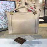 1:1 Quality Gucci GG Top Handle Large Leather Hobo Bag Fall/Winter 2016 Runway Collection, Sand