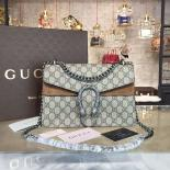 Best Quality Gucci Dionysus GG Supreme Shoulder Small Bag Fall/Winter 2016 Collection, Tan/Beige