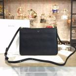 Best Replica Celine Box Crossbody Bag Smooth Leather Pre-Fall Winter 2015 Collection, Black
