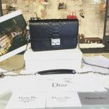 Christian Dior Miss Dior Promenade Pouch Bag Mini 20cm Bag Python Leather Spring/Summer 2016 Collection, Black