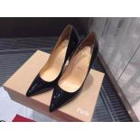 Christian Louboutin So Kate Patent Leather Pumps 120mm, Black