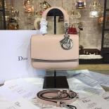 Dior Be Dior Mini Bag Grained Calfskin Leather Fall/Winter 2016 Collection, Rose Pink