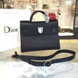 Dior Diorever Tote Large Bag Calfskin Leather Bag Fall-Winter 2016 Collection, Black