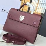 Dior Diorever Tote Large Bag Calfskin Leather Fall-Winter 2016 Collection, Burgundy