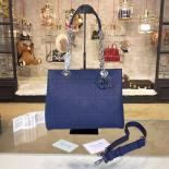 Dior Ultradior Small Bag Calfskin Leather Bag Fall/Winter 2016 Collection, Blue