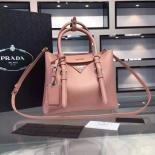 Discount Prada Saffiano Cuir Small Tote Bag Original Leather Spring/Summer 2015 Collection, Light Pink