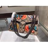 Gucci Dionysus GG Supreme Embroidered Shoulder Small Bag Original Leather Fall/Winter 2015 Runway, Beige/Ebony