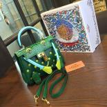 Limited Edition Hermes Mini Kelly Doll Bag 20cm Swift Leather With Croc Gold Hardware Singapore 50th Anniversary, Green/Light Green