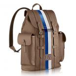 Luxury Replica Louis Vuitton Epi Leather Christopher Backpack PM M50860 Taupe