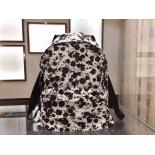 Replica AAA Givenchy Neoprene Backpack Bag Spring Summer 2015 Collection, Flowers White/Black