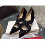 Replica Christian Louboutin So Kate Degraded Ombre Varnish Patent Leather Pump 120mm, Black