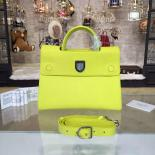 Replica Dior Diorever Tote Large Bag Calfskin Leather Bag Fall/Winter 2016 Collection, Yellow Mimosa