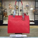 Replica Dior Ultradior Large Bag Calfskin Leather Bag Fall/Winter 2016 Collection, Red