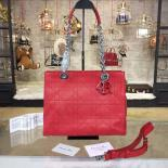 Replica Dior Ultradior Small Bag Calfskin Leather Bag Fall/Winter 2016 Collection, Red
