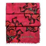 Replica Louis Vuitton Stephen Sprouse Monogram Roses Stole Pink