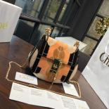 Replica Luxury Chloe Drew Small Flower Patchwork Leather And Suede Shoulder Bag Pre-Fall 2016 Bag Collection, Multicolor Black
