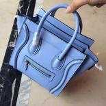 Replica On SALE! Celine Nano Luggage Bag Smooth Calfskin Leather Cruise 2015 Collection, Lilac