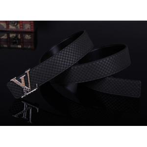 AAA Louis Vuitton Suede Leather LV Initiales Belt - 26