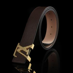 High Quality Replica Louis Vuitton Epi Leather LV Initiales Belt - 3